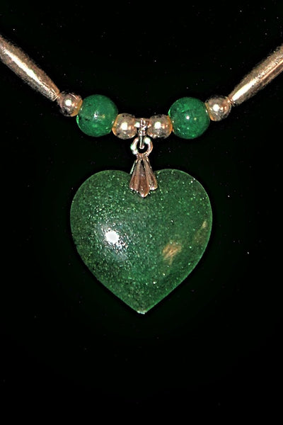 Aventurine Stone Necklace - Native Nation Arts & Crafts