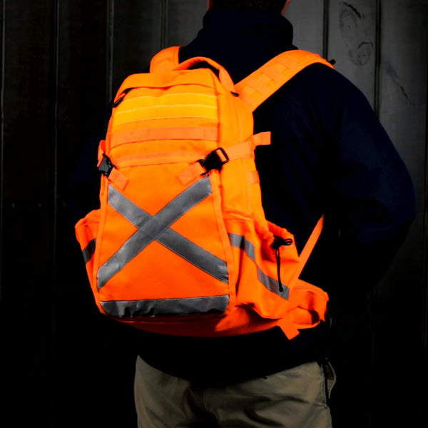 Fresh from Australia, Caribee Industrial Hi-vis Backpacks are now available for order to keep you and your crew safe.