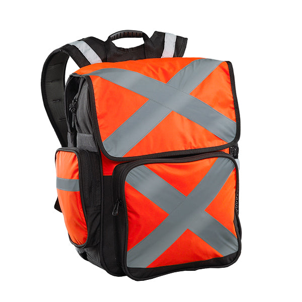 Caribee Pilbara high visibility backpack orange