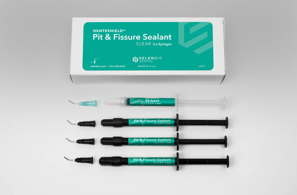 DenteShield™ Pit & Fissure Sealant Kit, Clear