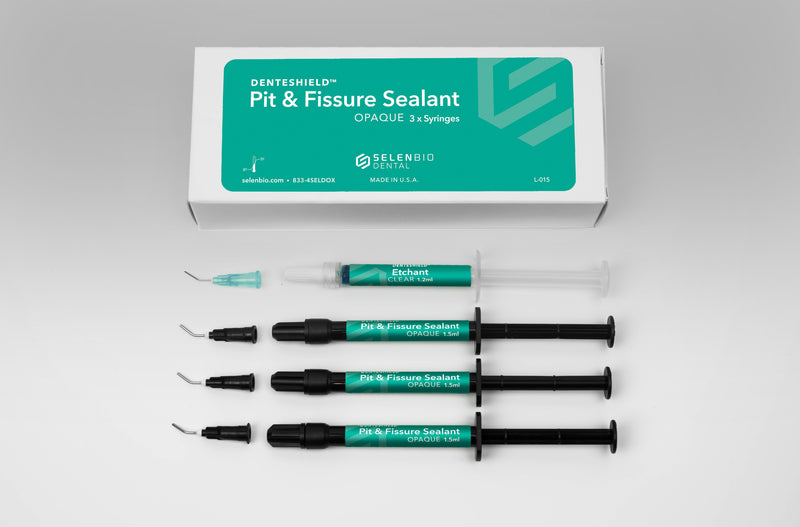 DenteShield™ Pit & Fissure Sealant Kit, Opaque