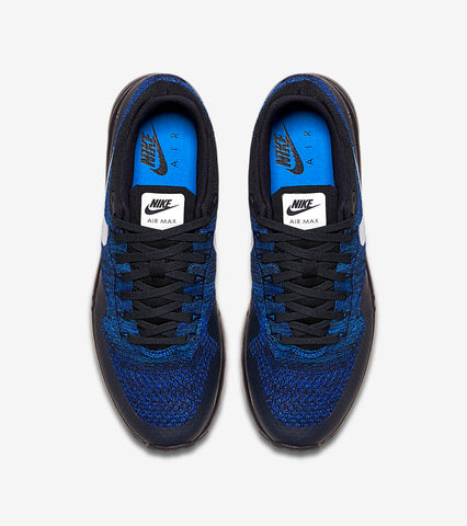 cheap for discount 142a9 126f2 Nike Air Max 1 Ultra Flyknit (Racer Blue)