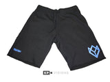 Sweatshorts - Black/Baby Blue