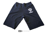 Sweatshorts - Black/White
