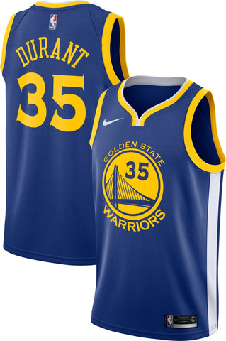 "Golden State ""#35 Kevin Durant"" road Jersey"