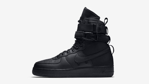 """Triple black"" Nike SF1"