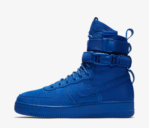 """Blue suede"" Nike Sf1"