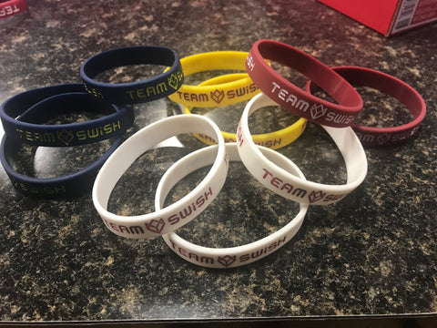 TEAMSWiSH Wristbands