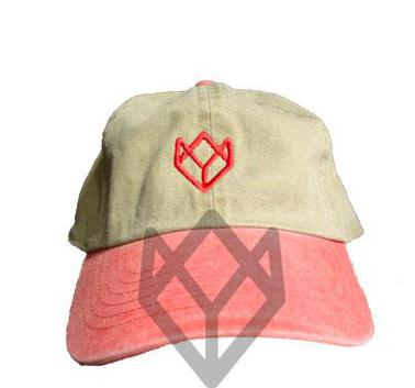 Team Swish Dad Hat - Tan/Red