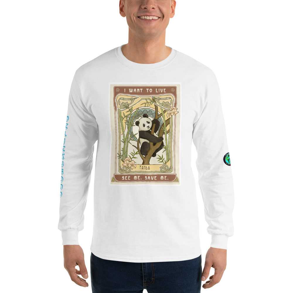 #PANDALOVE Unisex Long Sleeve Shirt