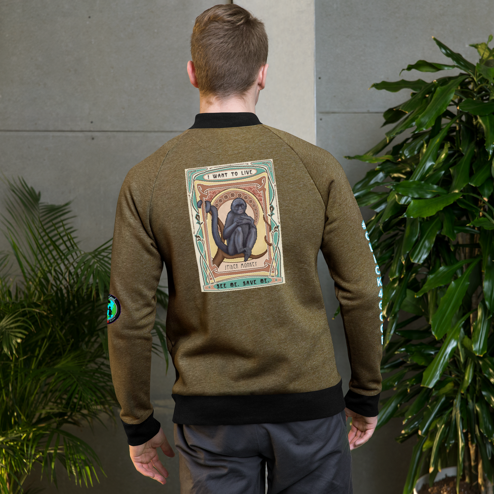 #SPIDERMONKEYLOVE Bomber Jacket