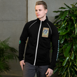 #VAQUITALOVE Unisex Piped Fleece Jacket