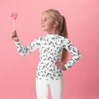 #VAQUITALOVE Print Kids Rash Guard