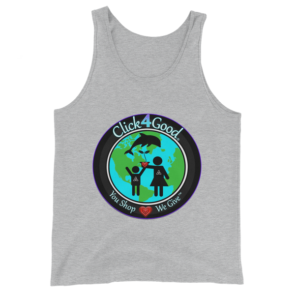 Click4Good Unisex  Tank Top