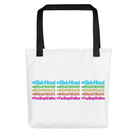 Click4Good Speak Tote bag