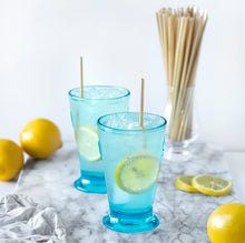 Load image into Gallery viewer, 	HAY! Straws are natural, minimally processed and 100% compostable and biodegradable. This 100 pack of Tall straws is the perfect solution for entertaining a crowd or simply enjoying your favorite drink at home.