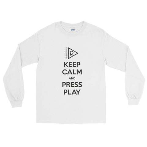 Monochromea Keep Calm long sleeve t-shirt