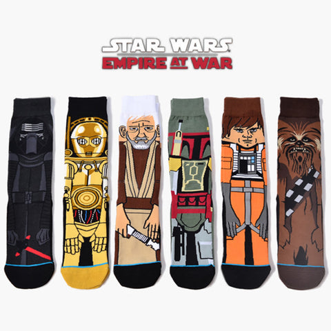 Long Star War Socks