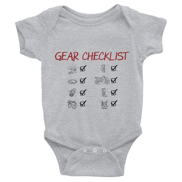Gear Checklist Infant Bodysuit