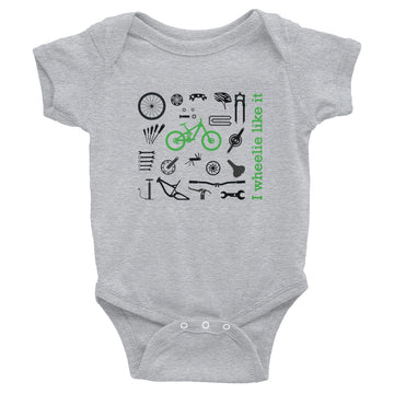 I Wheelie Infant Bodysuit