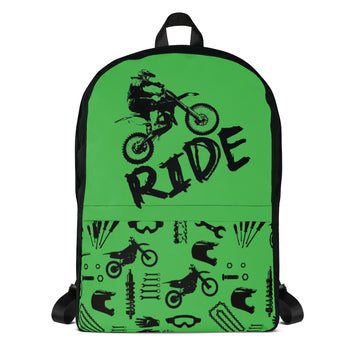 RIDE Dirt Bikes Backpack