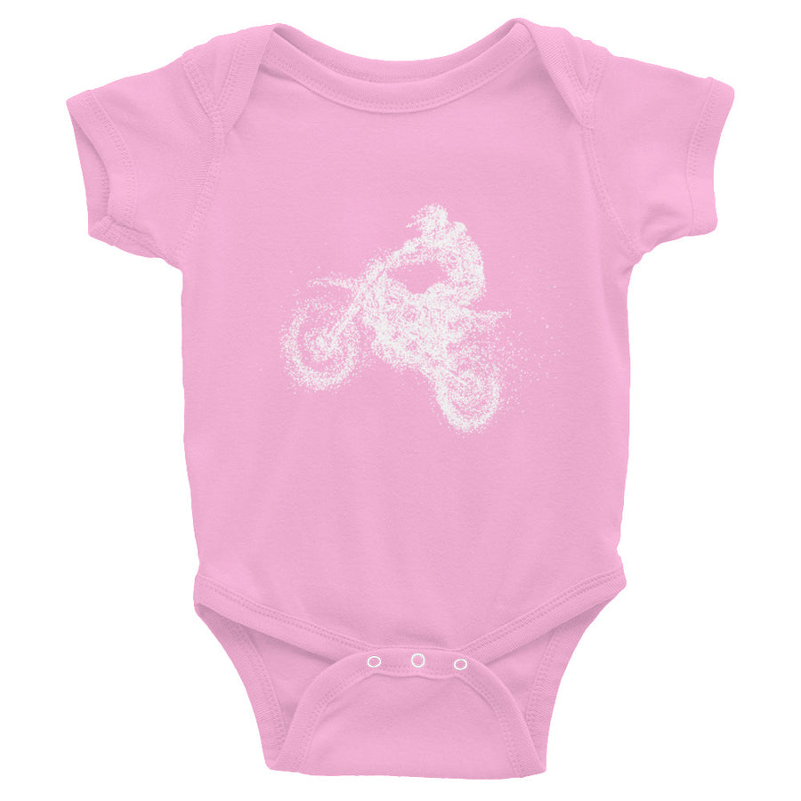 Dirt Bike Rider Infant Bodysuit