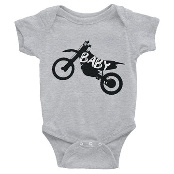 Dirt Bike Baby Infant Bodysuit