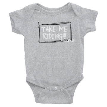 Take Me Riding Infant Bodysuit