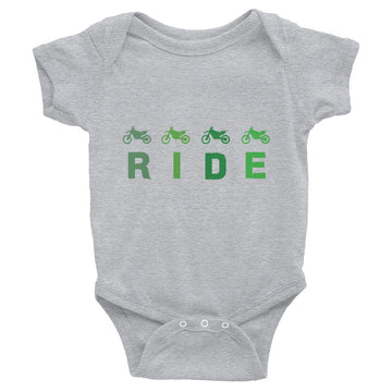 RIDE Dirt Bikes Infant Bodysuit