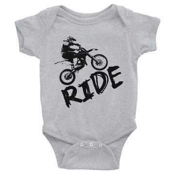 Dirt Bike Ride Infant Bodysuit