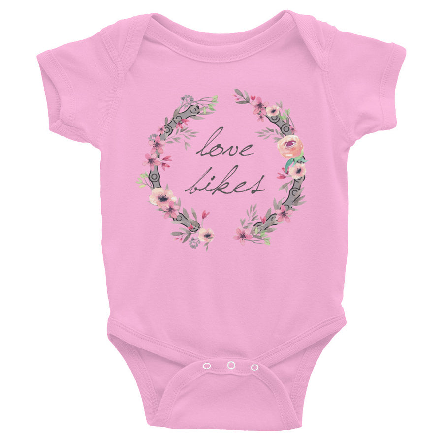 Love Bikes Infant Bodysuit