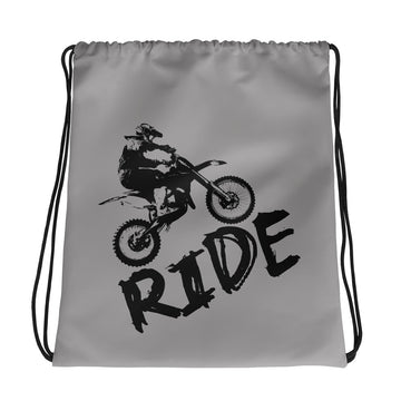 RIDE Dirt Bike Drawstring bag