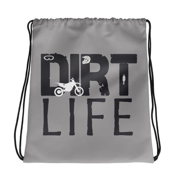 Dirt Life Drawstring bag