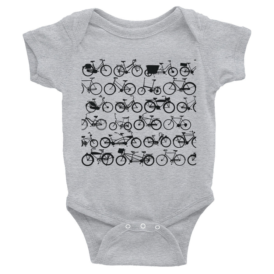 Tons of Bikes Infant Bodysuit