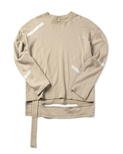 Khaki Long Sleeve Tee - INXX USA