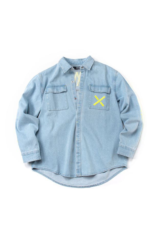 Light Blue Washed Denim - INXX USA