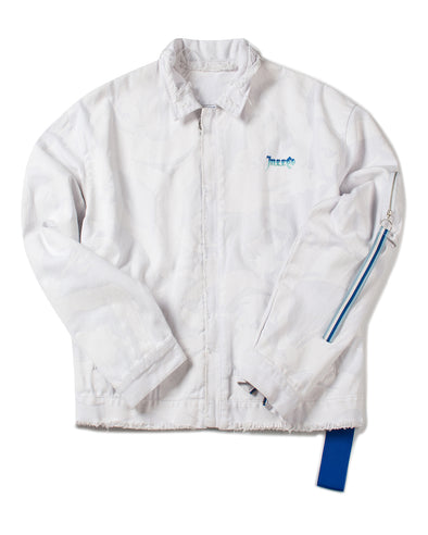 White Camo Denim Jacket - INXX USA