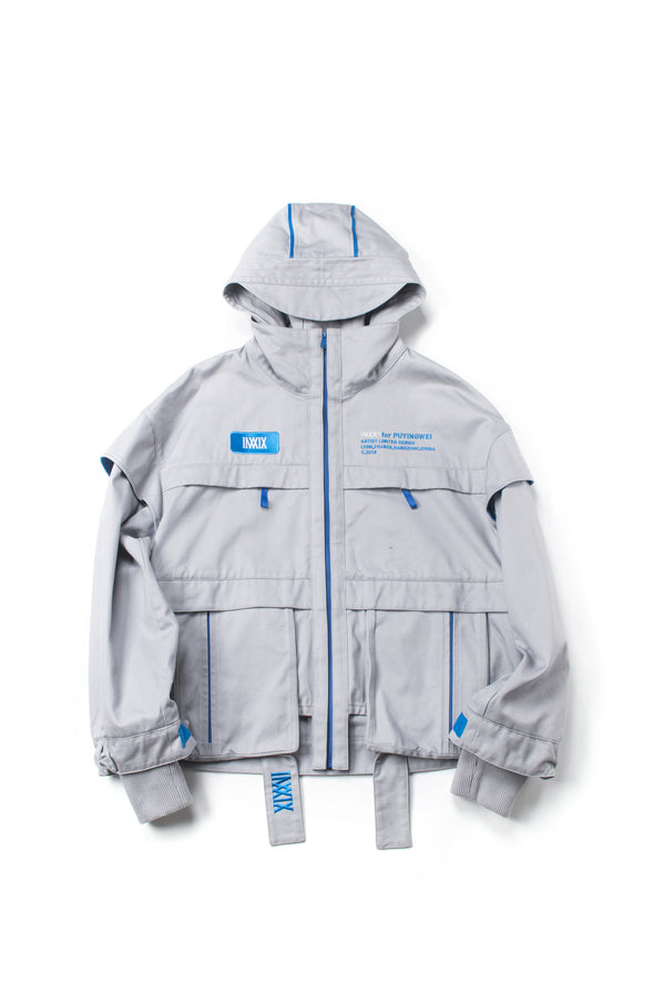 INXX pockets oversized Jacket - INXX USA