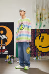 "INXX ""Grafflex"" 8bit Smiley Face Denim Jeans"