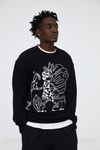INXX Steven Harrington Butterfly Sweatshirt Black