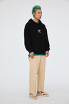 INXX Steven Harrington Embroidery Hoodie Black