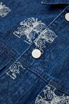 INXX Steven Harrington Butterfly Denim Jacket