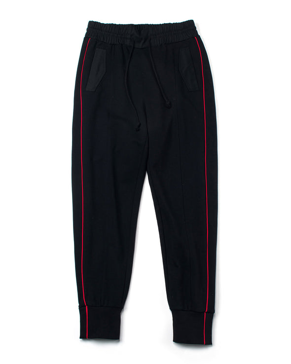 BLACK FRENCH TERRY JOGGERS - INXX USA