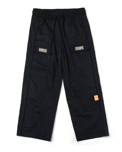 Black Twill Cargo Pant - INXX USA