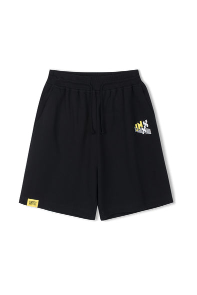 "INXX ""Grafflex"" 8bit Smiley Face Shorts"
