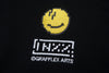 "INXX ""Grafflex"" 8bit Smiley Face Logo Hoodie Black"