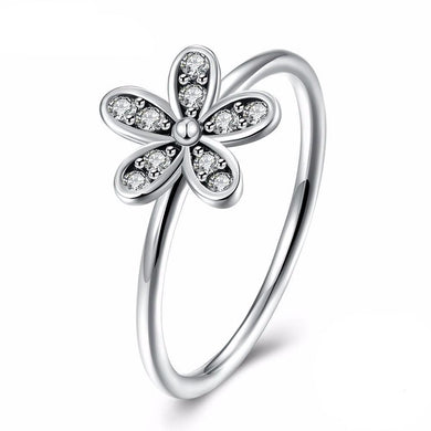 Wild Daisy Pave Ring