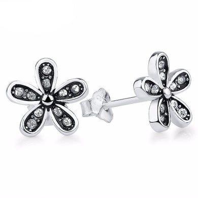 Wild Daisy Pave Earrings