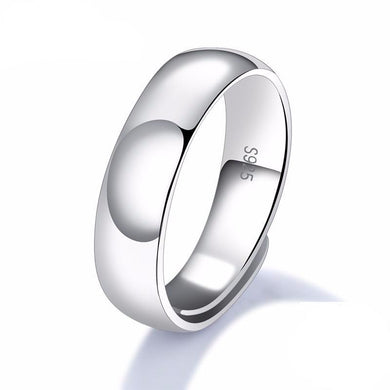 Smooth Silver Ring