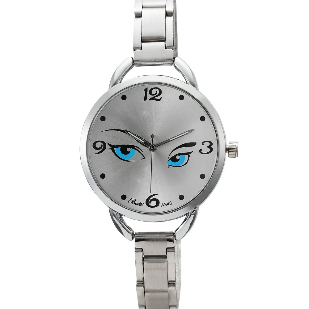 Eyes Pattern Watch